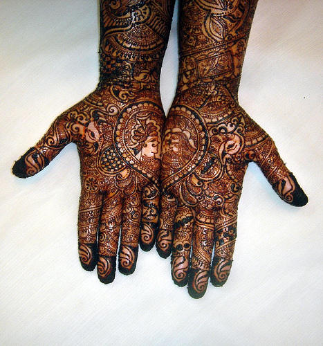 Stunning Full Bridal Mehndi Designs for Hands 467 x 500 · 195 kB · jpeg