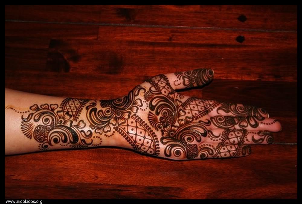 Cool Mehndi Patterns : Mehandi designs bridel design arabic