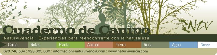 Cuaderno de Campo. Naturvivencia
