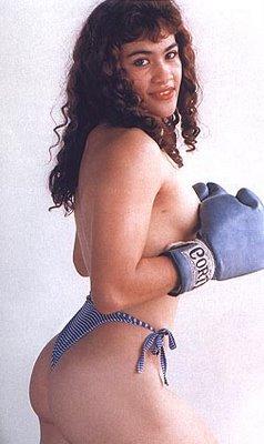 Cristina y las campeonas mundiales de boxeo