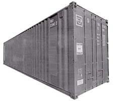 Cuanto mide un contenedor de 40 pies
