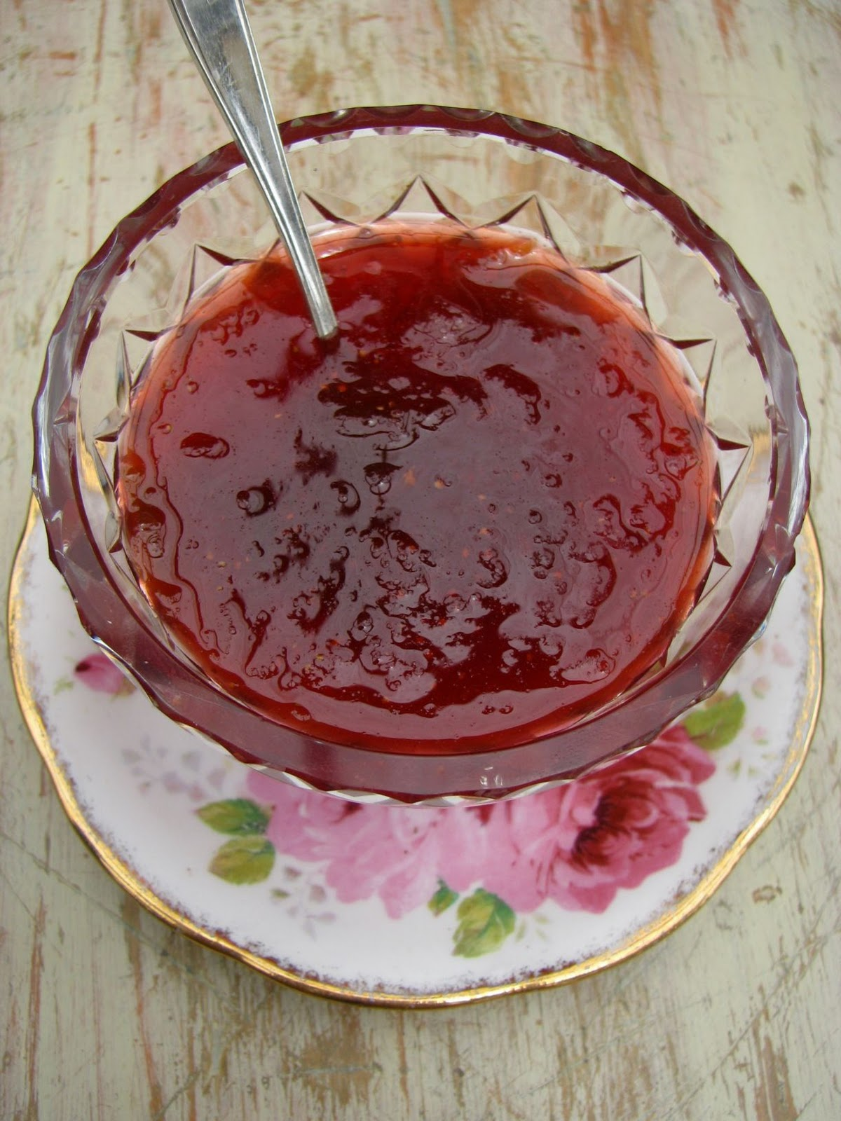 my darling lemon thyme: strawberry + rhubarb jam recipe