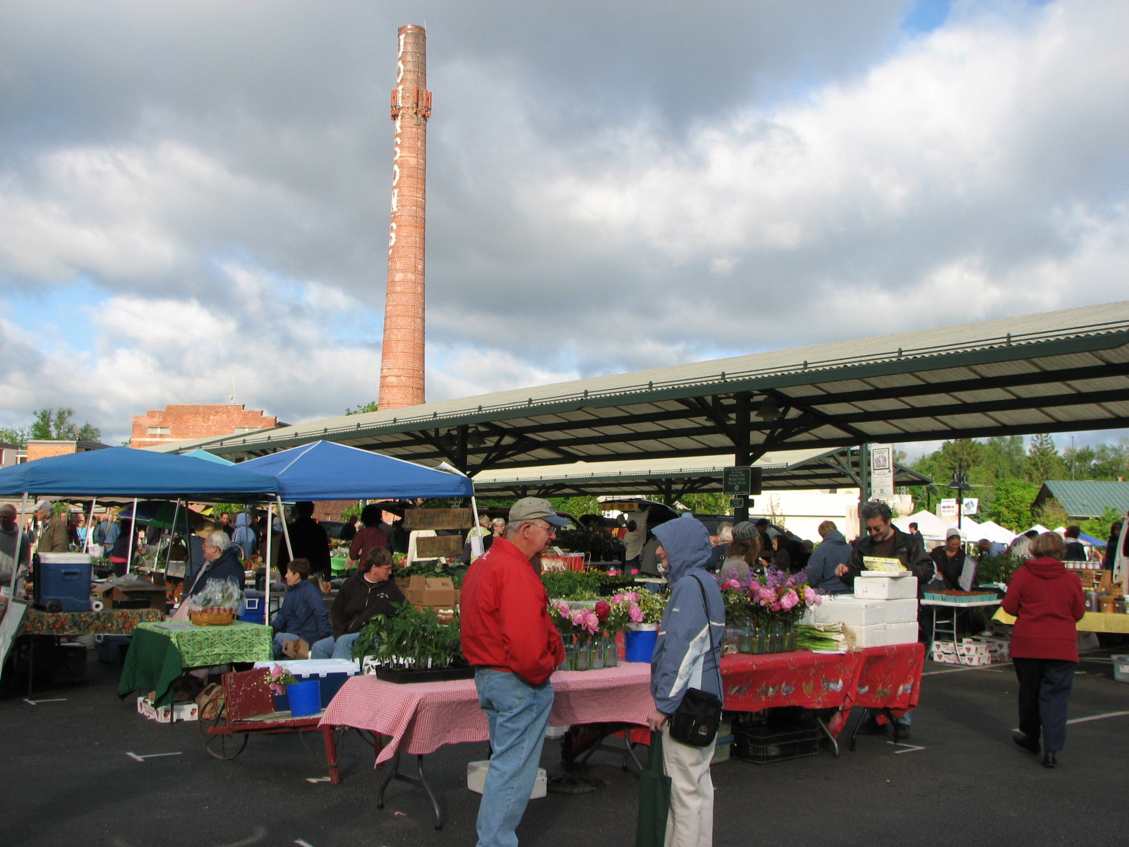 Rice and Beans: A Belizean Food Blog: Bloomington Farmers Market and ...