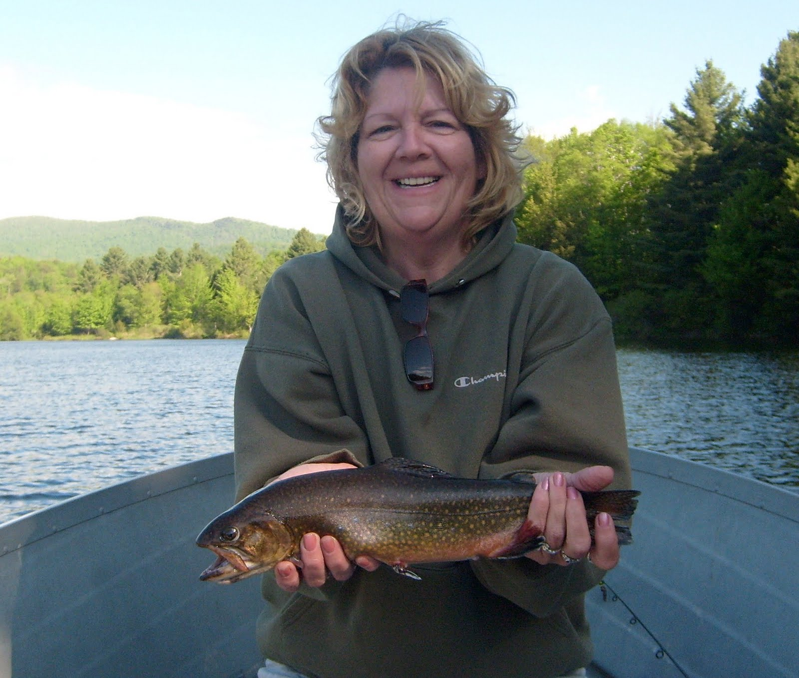 Vermont fly fishing want big vermont brook trout for Vermont trout fishing