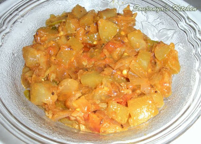 Bottle Gourd curry