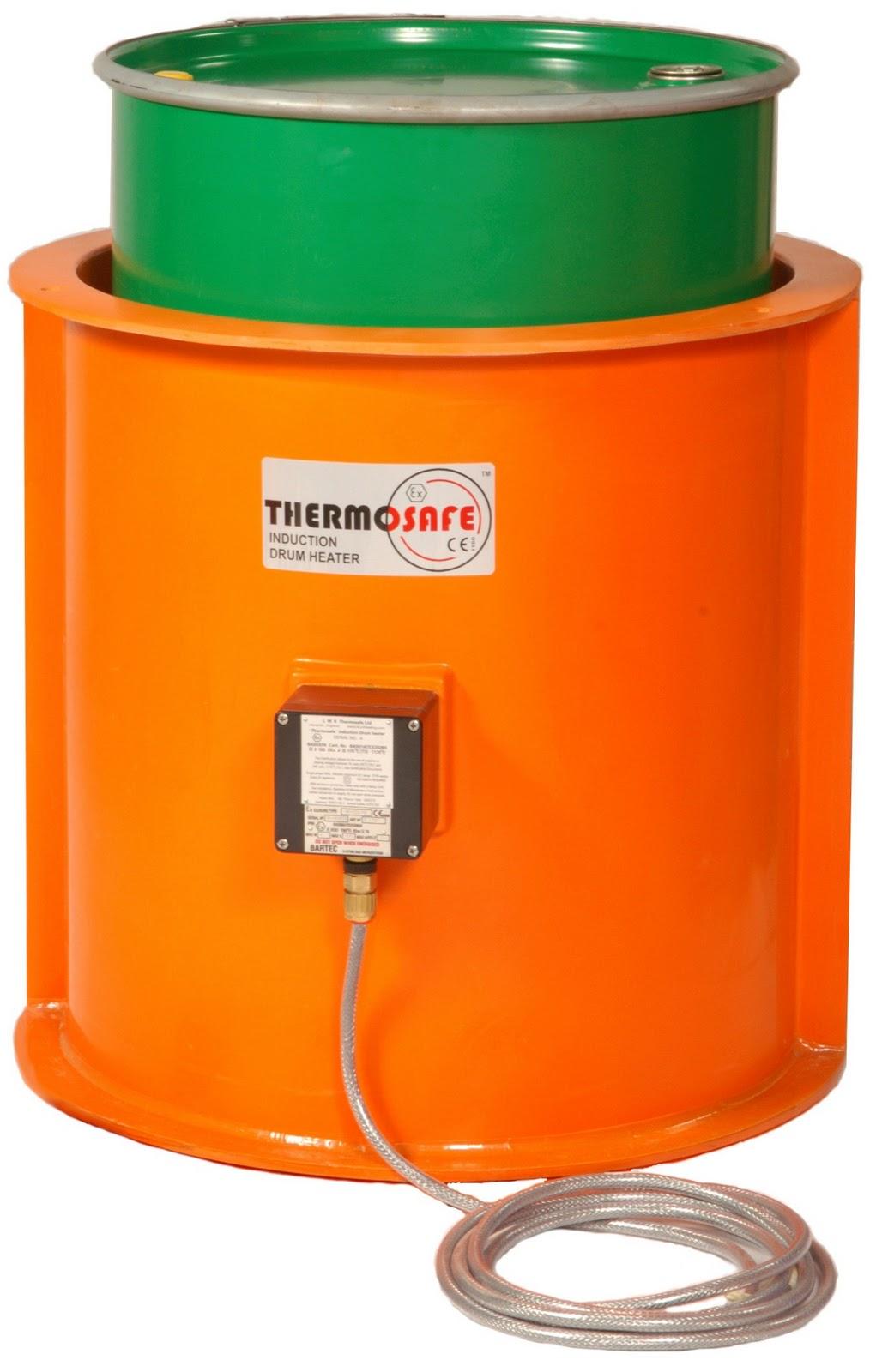 Calentamiento de bidones thermosafe calentamiento de for Bidon 30 litros cierre ballesta