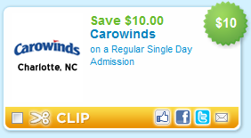 Carowinds discount coupons
