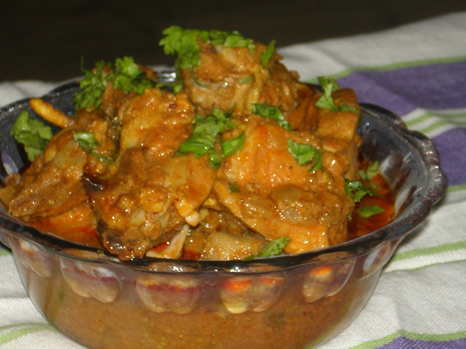 ANGLO-INDIAN RECIPES: Chicken Curry in a Hurry