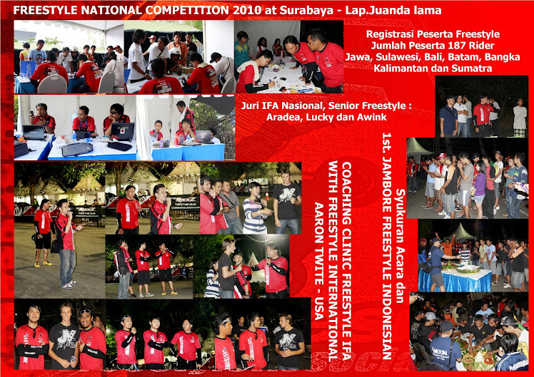 IFA - Umild Ubikers National Freestyle Competition dan JAMBORE Freestyle I  2010