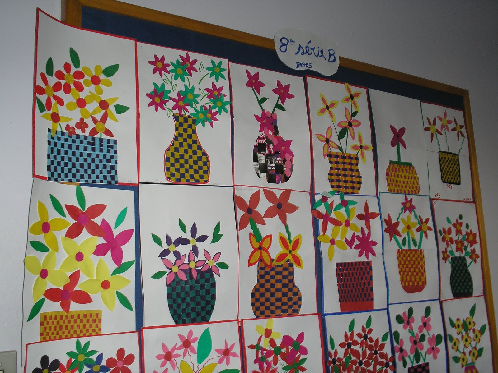 Escola Estadual de Ensino Fundamental Severino Dalzotto Trabalho de artes dos alunos da 8 u00aa