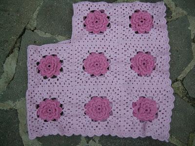 Gli hobby di daniela poncho all 39 uncinetto tutte pazze per i quadrati 2 - Piastrelle di lana all uncinetto ...