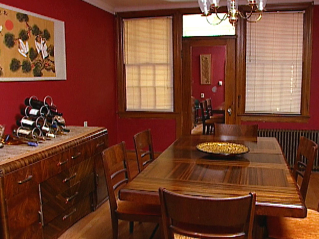 Red Walls Dining Room Colors