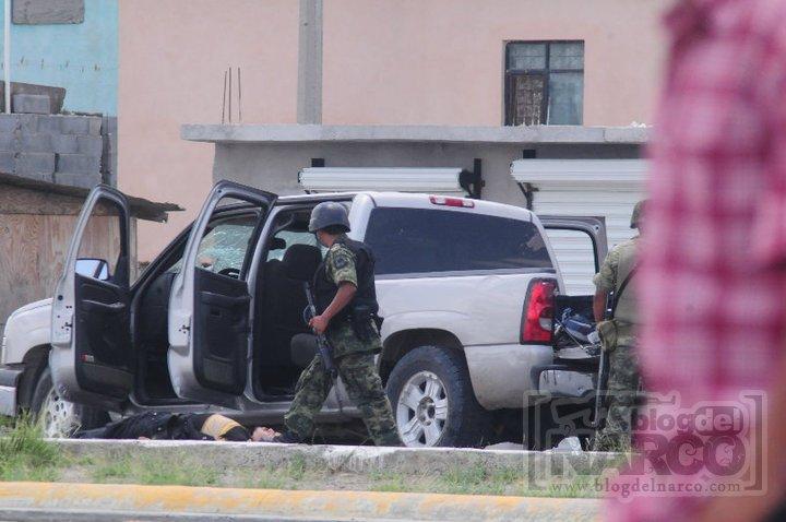 Fotos de la Balacera en Nuevo Laredo, Tamps. - El Blog del Narco