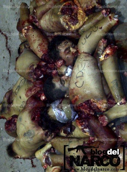 Blog del Narco presenta las siguientes imágenes en donde se observan
