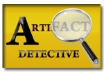 Artifact Detective graphic with magnifying glass