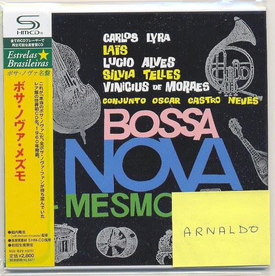 "Jazz Station - Arnaldo DeSouteiro's Blog (Jazz, Bossa & Beyond): SHM-CD of the Month - ""Bossa ..."