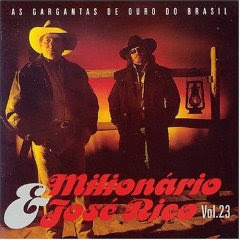 Cd Milionário & José Rico - As Gargantas de Ouro - Vol. 23