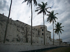 Outside of Elmina Castle