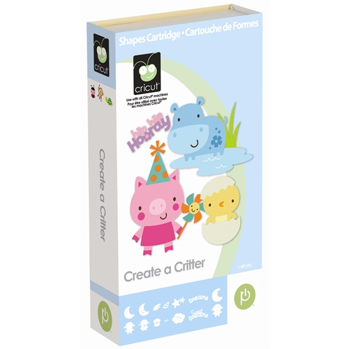 Create a Critter Cricut Cartridge