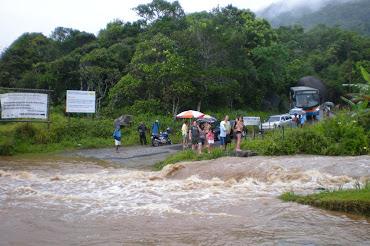 A enchente