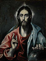 "El Greco&#39;s ""The Savior of the World"" (National Galleries of Scotland)"