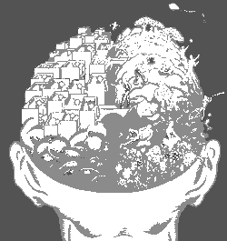 Otak Internet dan Piramida