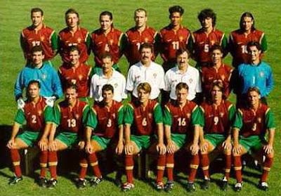 Resultado de imagem para Seleção Portuguesa de Futebol 1990