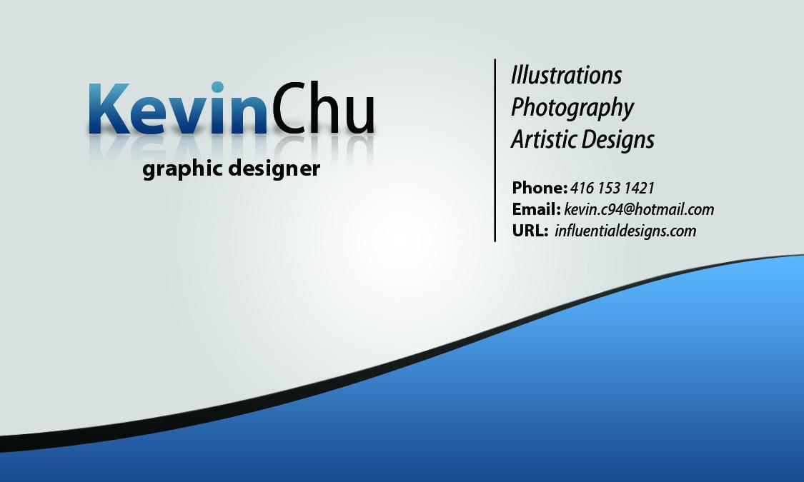 Grade 11 Graphic Designs: Slick Business Card - Tutorial Example