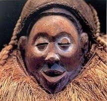 Mascara do kingage (Palhaço)