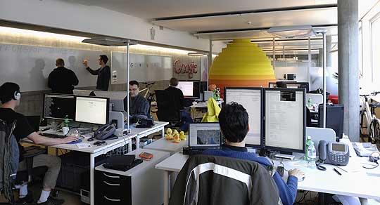 Arquitectitis nuevo concepto de oficinas for Oficina zurich zaragoza