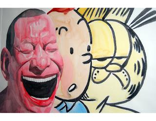 Les autoportraits hilares de l'artiste pékinois Yue Minjun