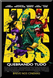 Filme Poster Kick-Ass - Quebrando Tudo DVDRip RMVB  Legendado