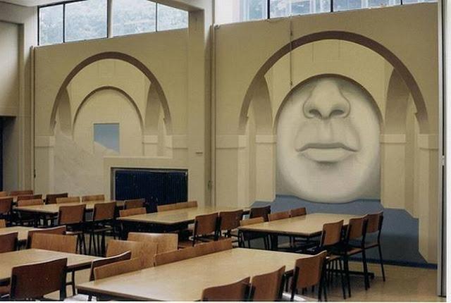 لوحات جدارية ابداعية Wall-drawings06