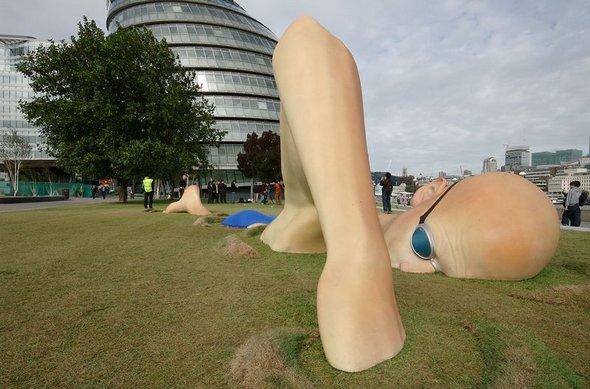 london biggest swimmer 13