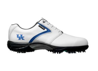 UK Wildcats golf shoes.
