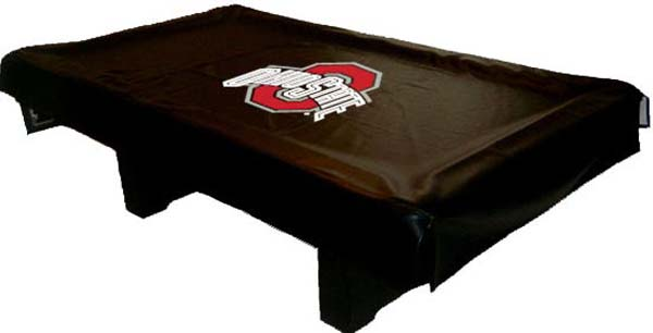university pool table cover