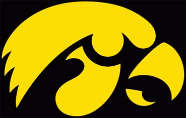 University of Iowa pool table   accessories