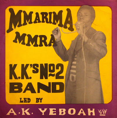 Cover Album of K.K.'s No 2 Band - Mmarima Mmra,Essiebons Enterprises Limited 1975