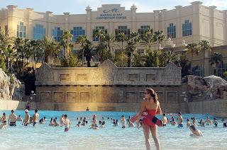 lasman2 Las piscinas en los hoteles de Las Vegas