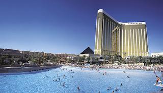 topper great Las piscinas en los hoteles de Las Vegas