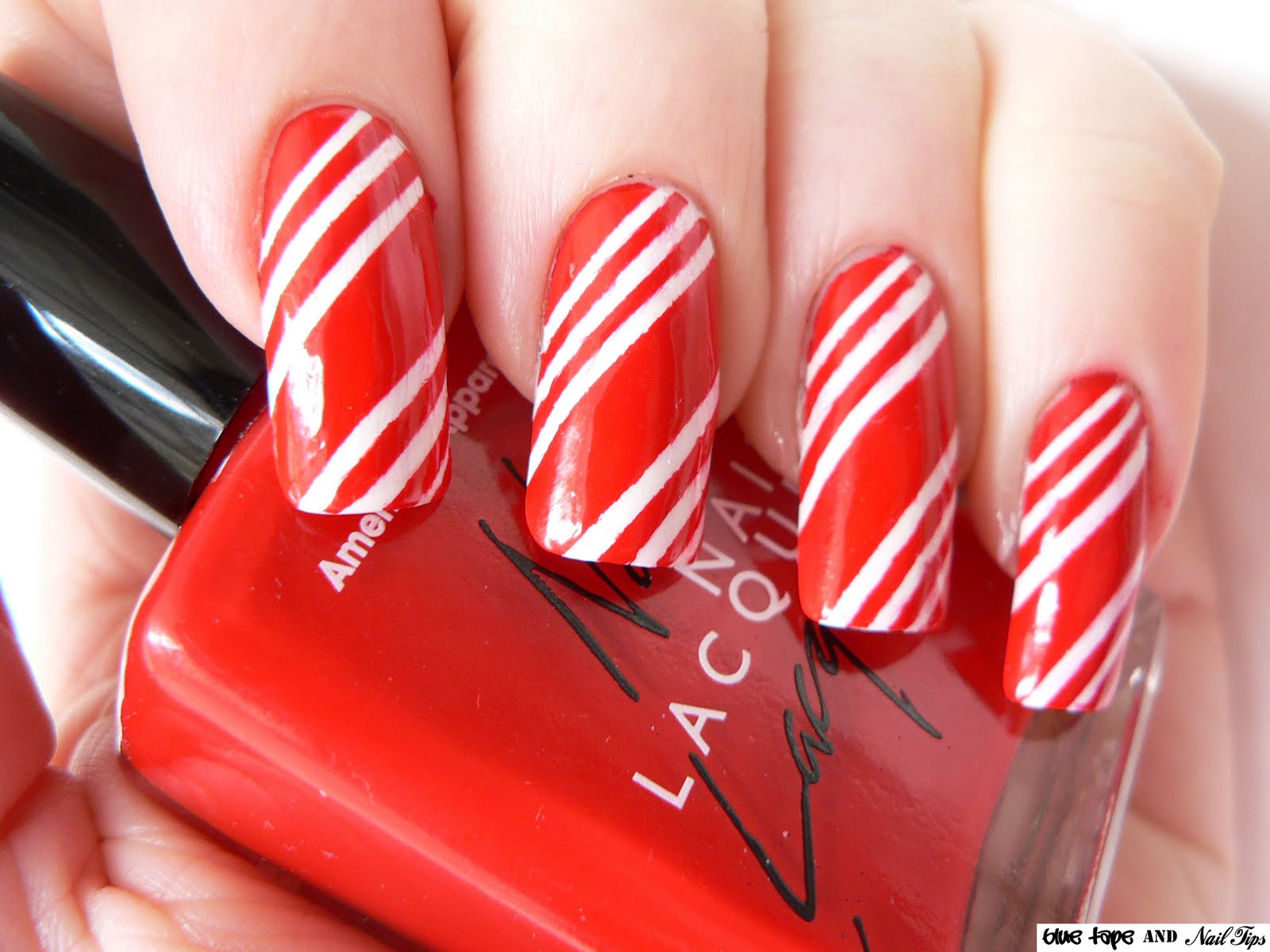 Easy Christmas Nail Art Design
