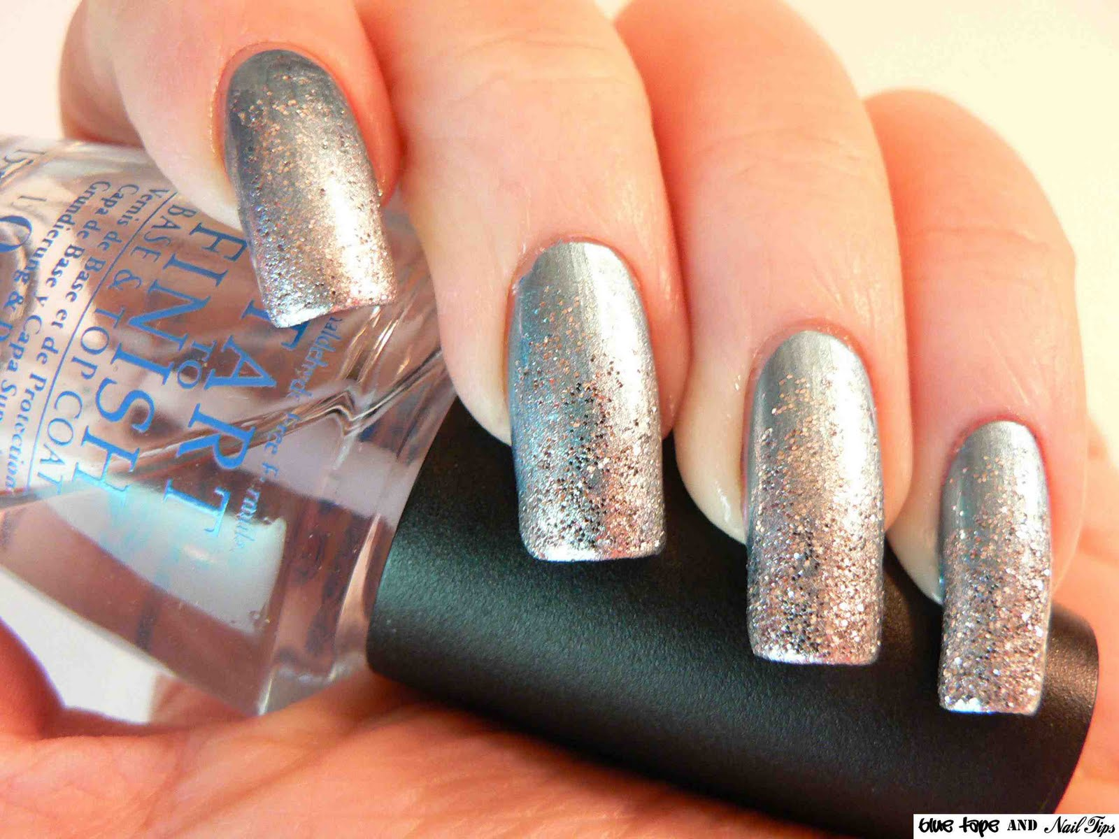 polished tips and toes: Silver Winter Wonderland