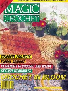 Descargas de revistas de tejidos MAGIG+CROCHET+PORTADA
