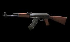AK-47 Ext. merupakan senjata yang menggunakan peluru dengan tipe 7.62 ...