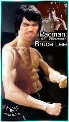 Manny Pacquiao As Bruce Lee