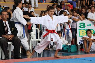 Eráclio Lopes (DF), campeão brasileiro de kata 2010