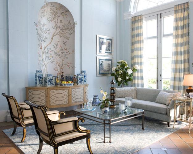... Ein Weißes Schlafzimmer Mit Türkisen wohnzimmer romantischer stil