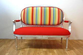 MetroSofa ~ Fun Modern Twist on Vintage Sofas & Chairs