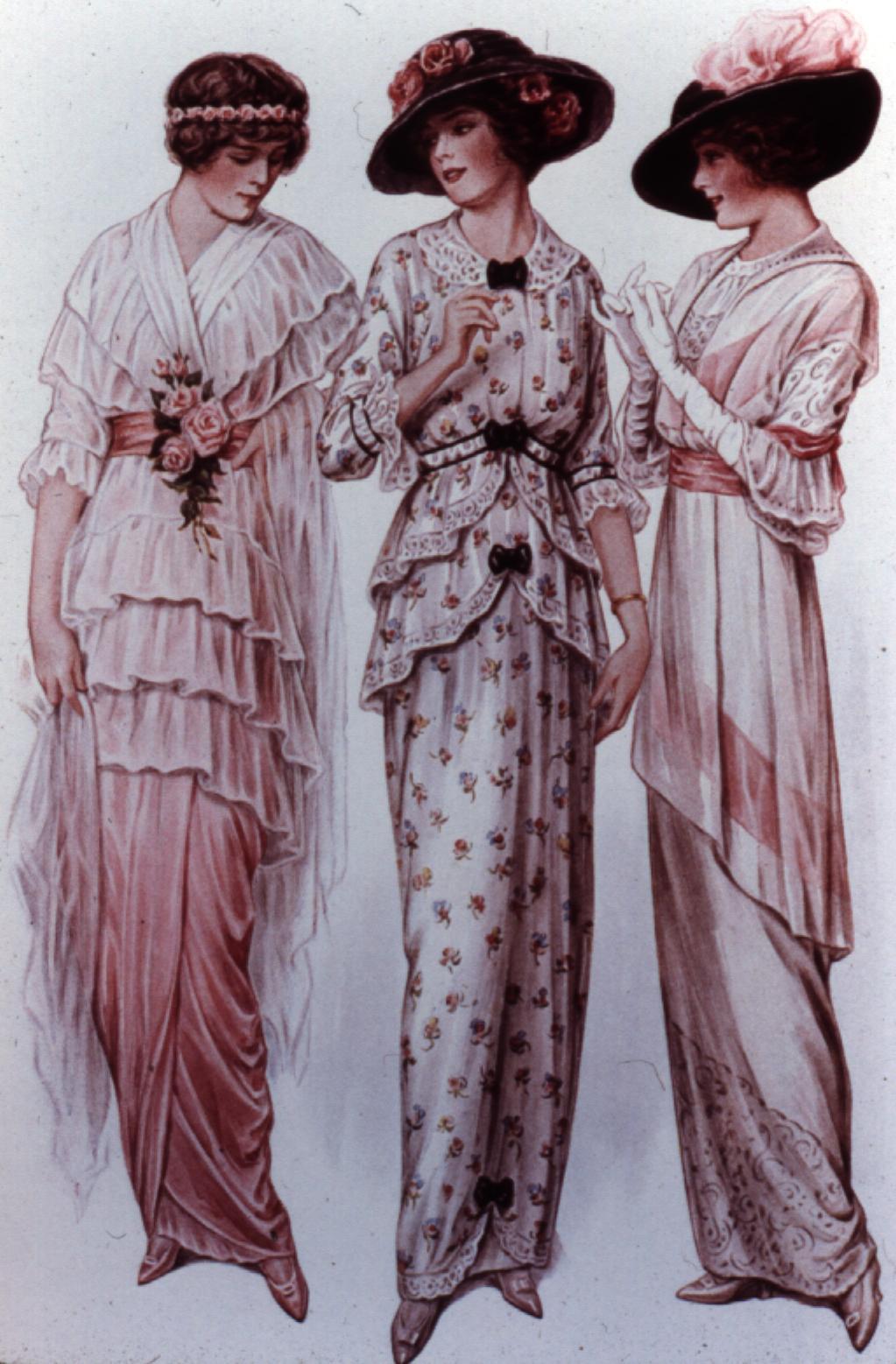 Hist Ria Da Moda S Culo Xix Parte 3 Moda Na Belle Poque E Era Eduardiana