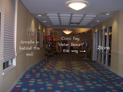Entrance to Coco Key